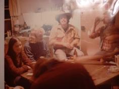 Poker night at Riverbend, 1975