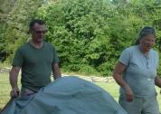 tent prep