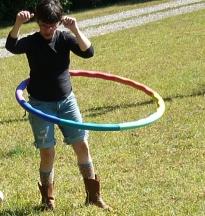 wendy, hooping it up