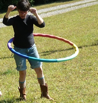 wendy, hooping it up
